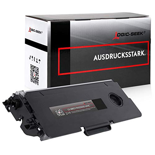 Logic-Seek XXL Toner 6.000 Seiten kompatibel für Brother TN-2000 TN2000 für Brother DCP-7010 DCP-7020 HL-2020 HL-2030 HL-2040 MFC-7240 MFC-7420 Fax 2820 2920