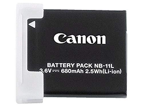 Canon NB-11L - Wiederaufladbare Batterien (Lithium-Ion (Li-Ion), Digitalkamera, Schwarz, Canon IXUS 125HS)