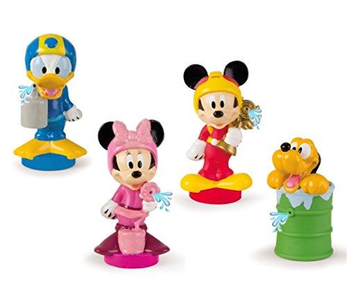 IMC–Mickey Mouse Surtido de paquetes de 2figuras de baño, 182769, color aleatorio