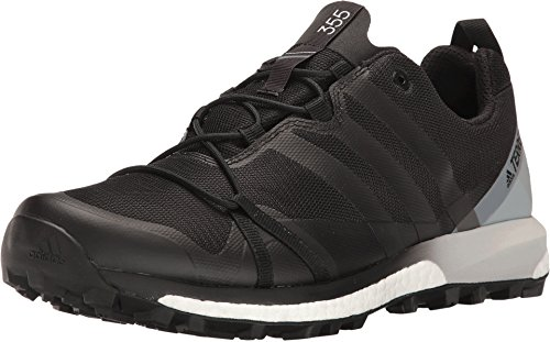 adidas Terrex Agravic GTX Shoe - Men's Trail Running 12 Black/White