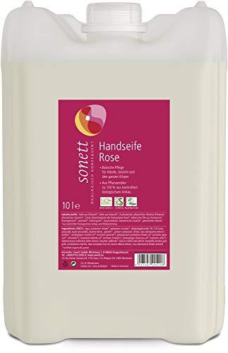 Sonett Bio Handseife Rose (2 x 10 l)
