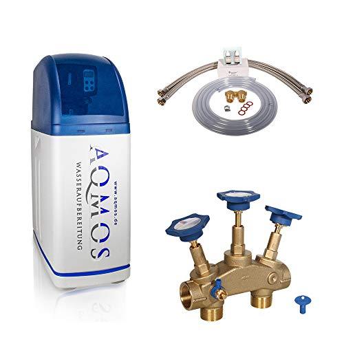Aqmos R2D2-32 Wasserenthärtungsanlage mit Anschlussset 1