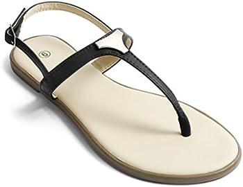 Soles & Souls Fashion Triangle Metal Flat Sandals