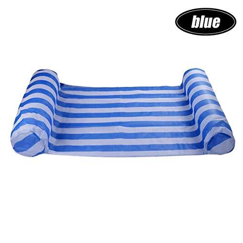 SADDPA opblaasbare slaapbank, pvc, 130 x 70 cm blauw