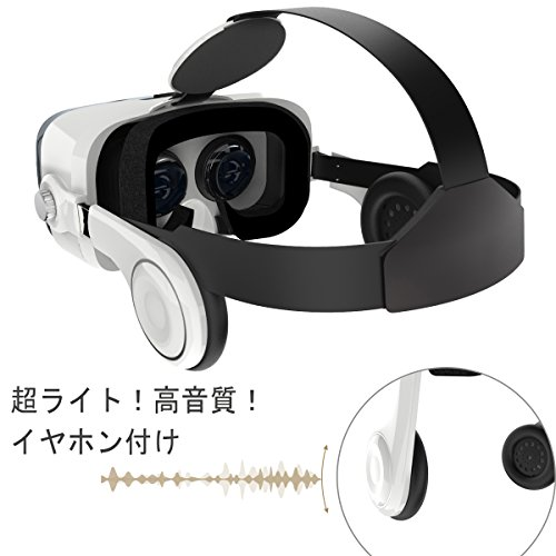 『iDudu 3DVRゴーグル ヘッドセット実装 焦点/瞳孔距離調節可能 音量調整可能』の3枚目の画像