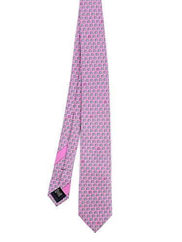 Z ZEGNA Luxury Fashion Herren Z8W021L7D Rosa Seide Krawatte | Herbst Winter 20