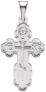 DiamondJewelryNY Eye Hook Bangle Bracelet with a St Norbert of Xanten Charm.