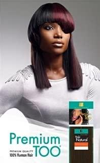 Premium Too Yaki Natural, Premium Quality 100% Human Hair Weave, by Sensationnel, 12,