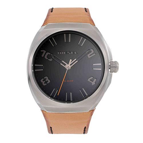 Diesel Men's Stigg Three-Hand Silver-Tone Stainless Steel Watch DZ1883