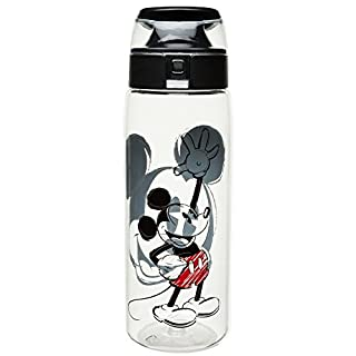 طلب Zak Designs SHPC-P280 Water Bottles, Tritan Straw, Shopkins