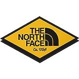 [ザノースフェイス] ステッカー TNF Print Sticker コーションイエロー 日本 F (FREE サイズ)