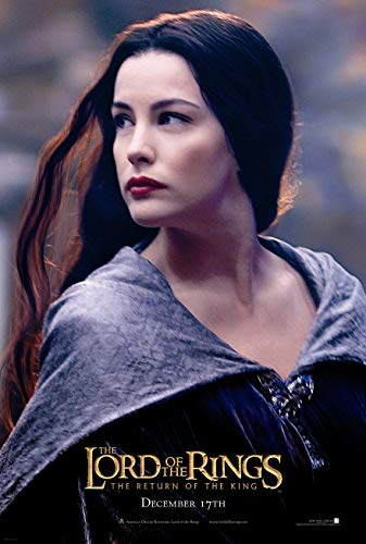 LORD OF THE RINGS RETURN OF THE KING MOVIE POSTER 2 Sided ORIGINAL ARWEN 27x40