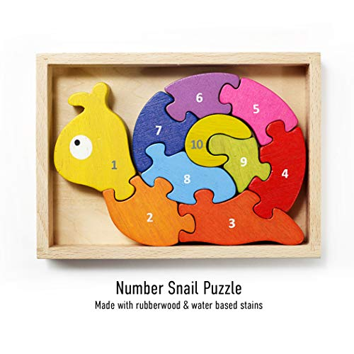 BeginAgain Number Snail Puzzle...