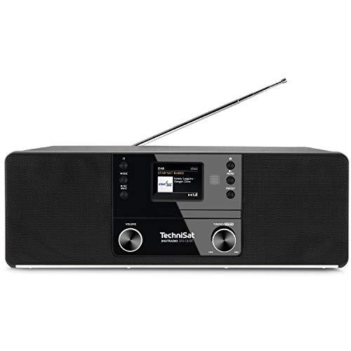 TechniSat DIGITRADIO 370 CD BT CD-Radio DAB+, UKW CD Schwarz