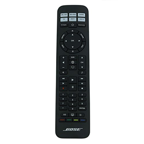 Bose télécommande universelle pour CineMate Série GS I II/Solo 15(Rc-pws II/639414–1020/noir)