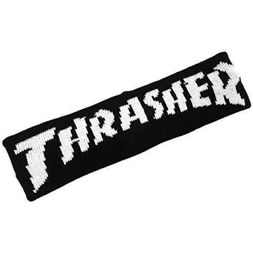 THRASHER ヘアバンド (BLACK)