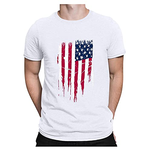 Novelty T Shirt, ZYooh Men Boy Fashion Short Sleeve Elephant Printed Round Neck T-Shirt Tee Top (S, Elephant)