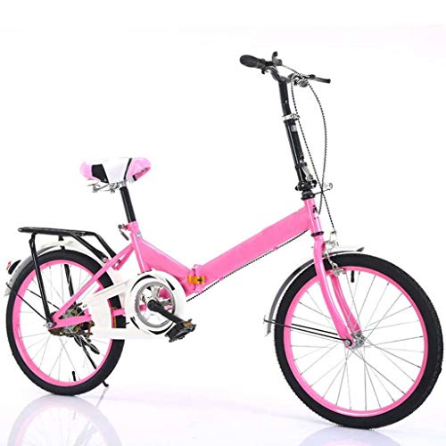 Bicicleta 6-8 Pulgadas, Plegable Portátil Pequeño Mini Absorción De Impacto Bicicleta Chico...