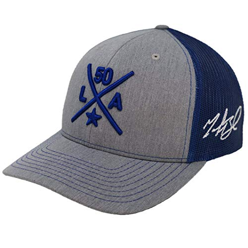 Aced Out Mookie Betts Compass Hat - Trucker (Grey/Royal)