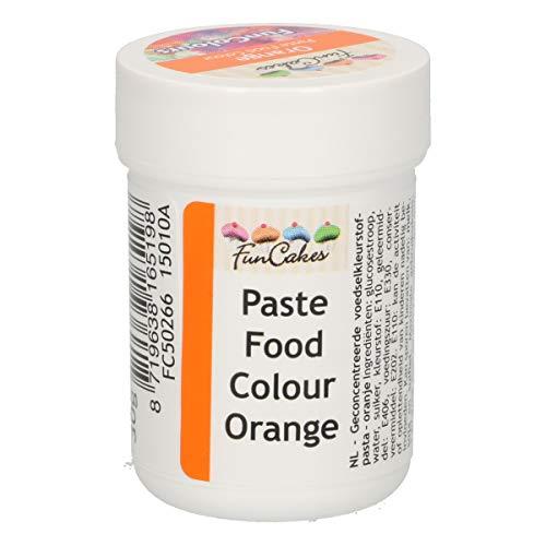 FunCakes FunColours Colorante Concentrado Alimenticio en Pasta para Hornear, Decorar, Glasear,...