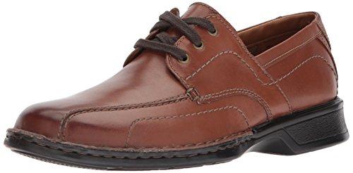 Clarks Men's Northam Edge Loafer Brown Leather 10US