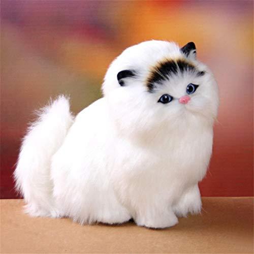 XUXFANG Plüschspielzeug Schöne Elektrische Simulation Füllte Plüsch-Katzen Spielzeug Soft-Sounding Nette Plüsch-Katze-Puppe Spielt Spielzeug niedlich (Color : 3)