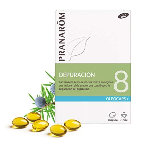 Pranarôm - Oleocaps - 8 - Depuración - 30 cápsulas