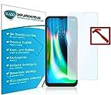 Slabo Lámina de Vidrio Premium para Motorola Moto g9 Play Protectora Protector de Pantalla Templado Tempered Glass Claro dureza 9H
