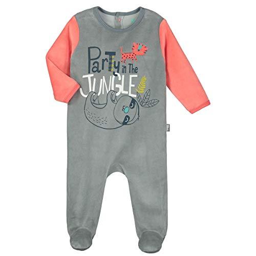 Petit Béguin - Pyjama bébé velours Party Jungle - Taille - 24 mois