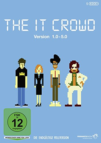 The It Crowd - Version 1.0 - 5.0 - Die endgültige Vollversion (5 DVDs)