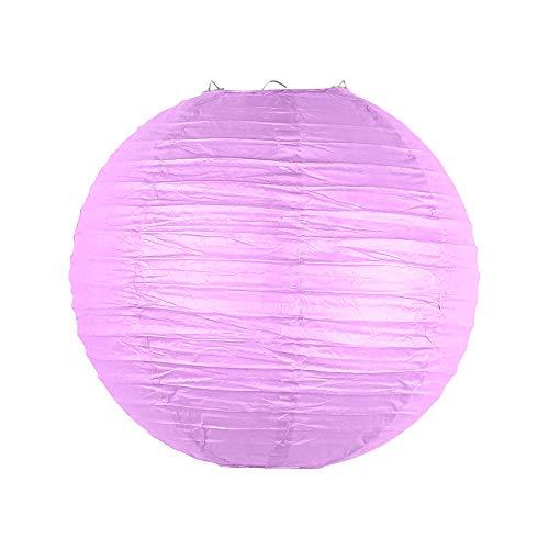 SKYLANTERN Boule Papier 30cm Parme