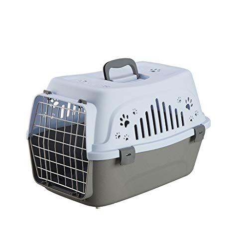 LVCB Valigia per Cani, Gatto Gattino Vettore Cane Coniglio Vettore Canile Viaggio Trasporto Gabbia (Colore : B)