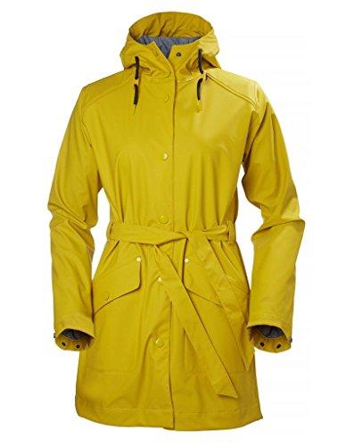 Chubasquero Helly Hansen amarillo para mujer
