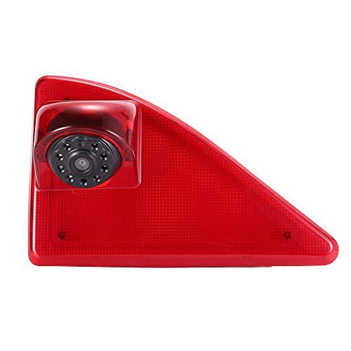 Auto achteruitrijsysteem achteruitrijcamera in 3e remlicht remlicht passend met hoek verstellen nachtversie IR-licht voor Van dakcamera Opel/Vauxhall Movano/Renault Master/Nissan NV400