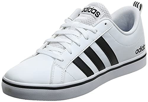 adidas, Scarpe da Ginnastica Uomo, Bianco Nero, 44 EU