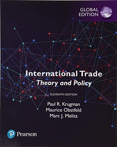 International Trade: Theory and Policy, Global Edition [Lingua inglese]