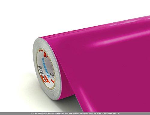 CLICKANDPRINT  3m Klebefolie, 50cm breit, Pink PR » Plottfolie/Plotterfolie/Schneidefolie
