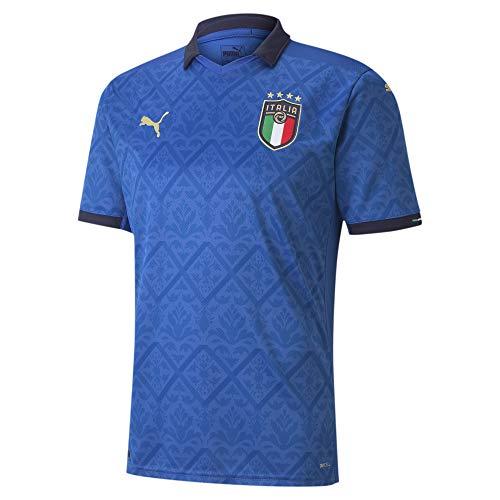 PUMA FIGC Italia Home Soccer Jersey 2020 (Large)