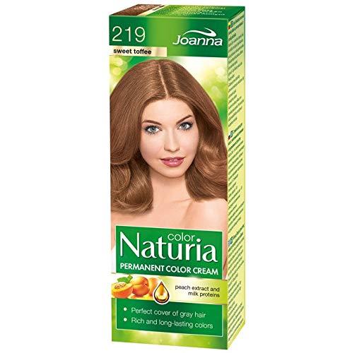 Joanna Naturia Color Haarfarbe Dye Bezüge Gray Hair alle Farben erhältlich–219Sweet Toffee