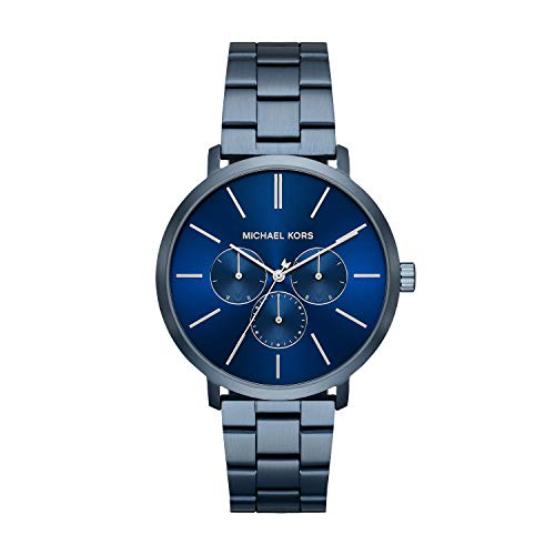 Michael Kors Mens Analoog Quartz Horloge met RVS Band MK8704