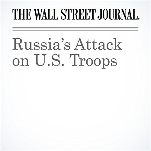 Russia's Attack on U.S. Troops copertina