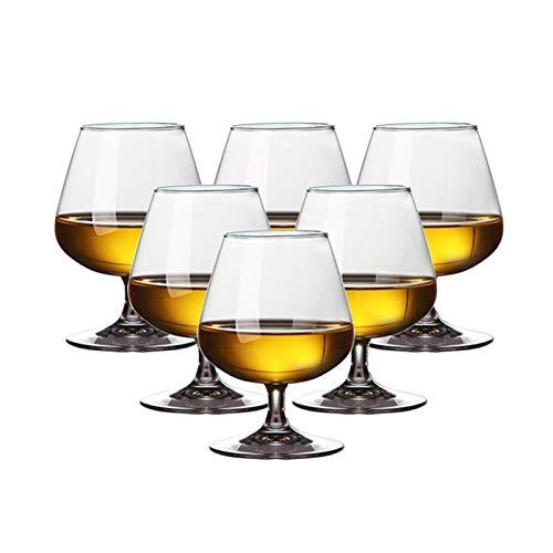 AHAI YU Cristal Premium - Cata de vinos Copas de Vino de Tallo Corto, Copas de Vino Baratas, Cristal Premium Libre de Plomo, Regalo para degustación de vinos Hombres o Mujeres