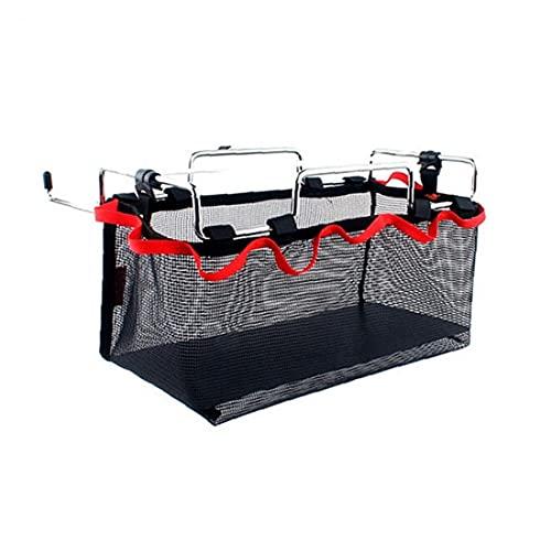 Liadance Speichernetzbeutel Material-Speicher-netztasche Tabelle Rack-Material-Speicher-Netz Beutel Für Picknick Im Freien Camping Küche Klapptisch Hänge Net