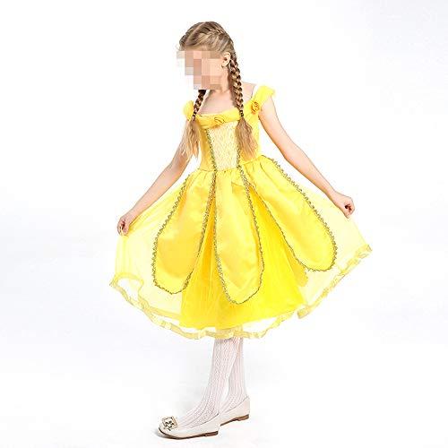 kMOoz Halloweenkostuum, voor Halloween, carnaval, Halloween, Cosplay Horror kostuum, voor meisjes en kinderen, kinderdagkostuum Large