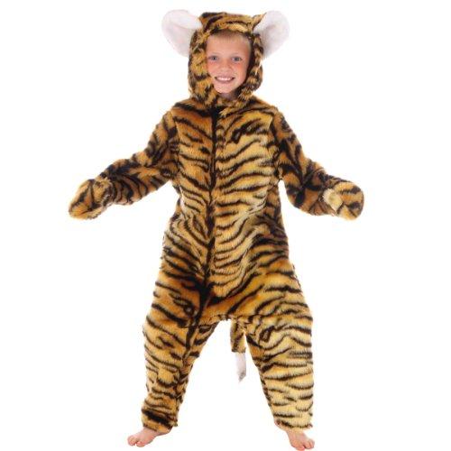 Charlie Crow Déguisement Tigre pour Les Enfants. Taille 4-6 Ans.
