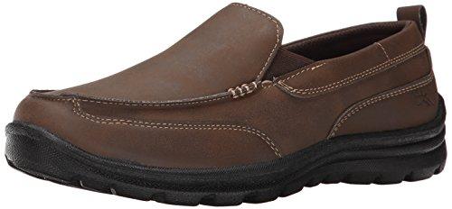 Deer Stags boys Zesty - K loafers shoes, Brown, 4 Big Kid US