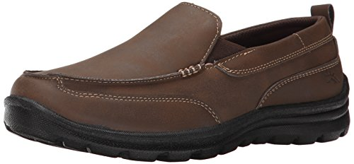 Deer Stags Zesty Casual Slip-On (Little Kid/Big Kid), Brown, 3 M US Little Kid