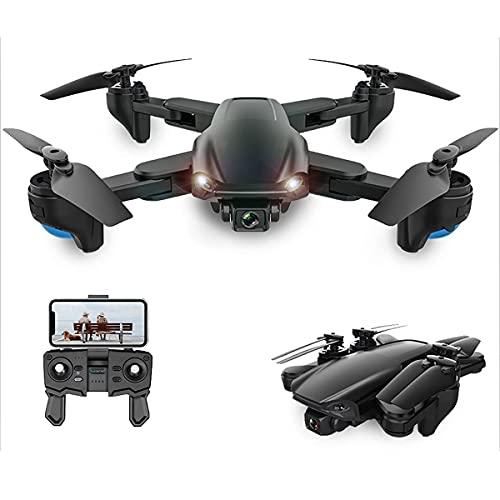 JJDSN Drone con Fotocamera 4k, Drone Pieghevole per Bambini e Adulti, Elicottero a Quattro Assi Adatto per Principianti, Ragazzo Ragazza e Regalo Giocattolo per Adulti con Telecomando