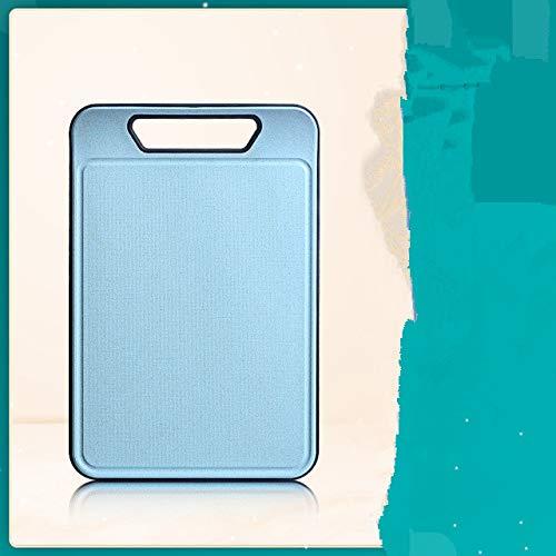 Tabla de Cortar Extra Grande Cocina Paja de Trigo Tabla de Cortar de TPR Ranura de Jugo Tabla de Cortar Antideslizante Sin BPA Apta para lavavajillas - Beige