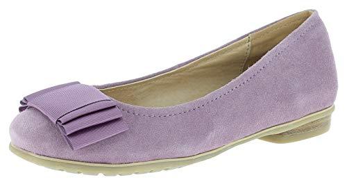 Hirschkogel Damen 0594343 Ballerinas, Größe:39 EU, Farbe:Flieder